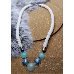 Pryskyřicový náhrdelník č.001